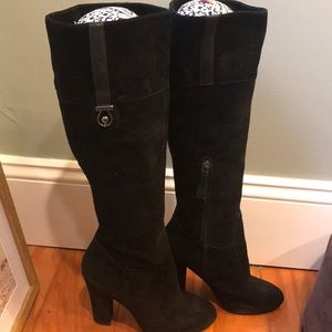 Joan and David suede boots